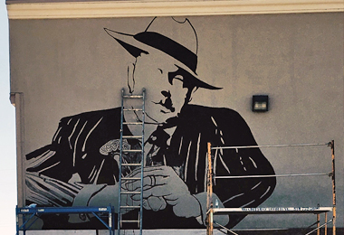 God Father Mural